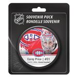 Blister NHL Star-Player Pucks Price