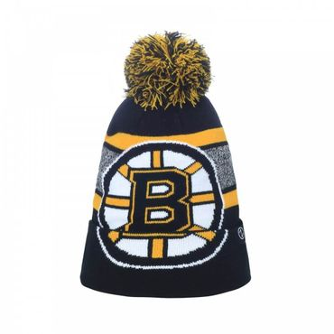 Zephyr NHL Wintermütze mit Bommel Boston