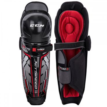 CCM Jetspeed FT370 Hockey Shin Guards Senior