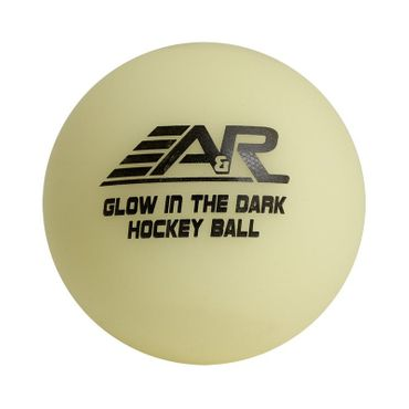 A&R Glow in the Dark Streethockey Ball