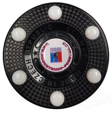 Official IHD Inline Hockey Puck - Black