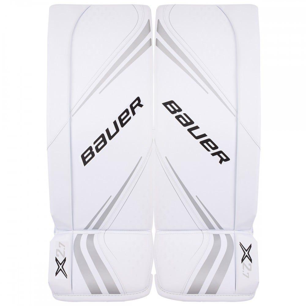 Bauer Vapor X2.7 Goalie Pads Junior - white