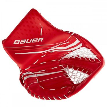 Bauer Vapor X2.7 Goalie Catcher Junior - white