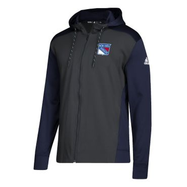 Adidas Full Zip Hoodie - New York Rangers