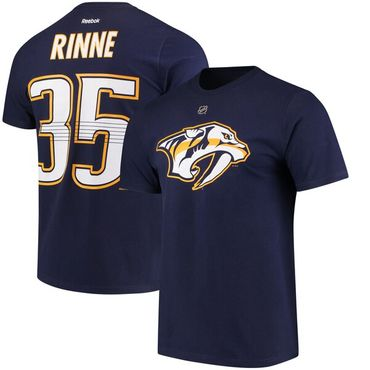 Nashville Predators Rinne T-Shirt - Name & Number