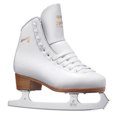 Graf Splendid Gold Figure Skates