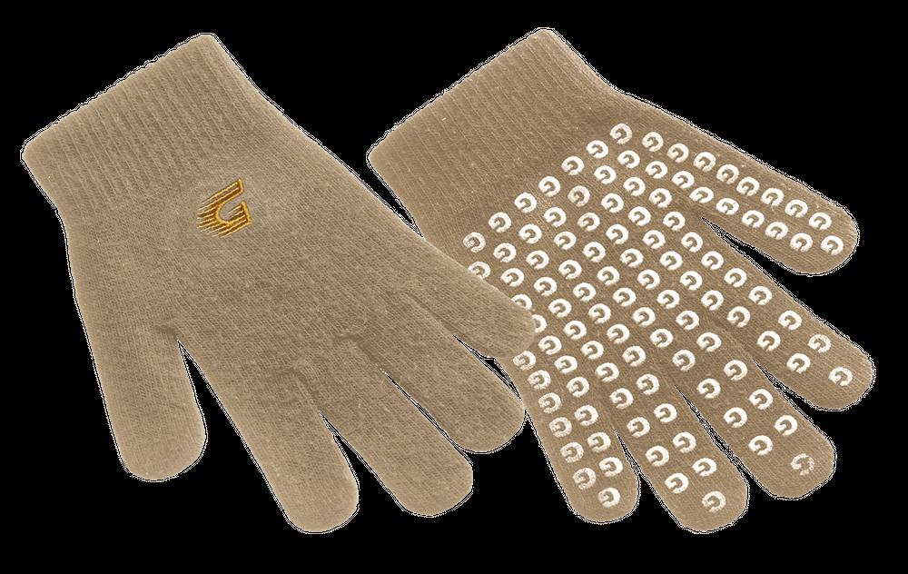 Graf Baumwoll Handschuhe - beige