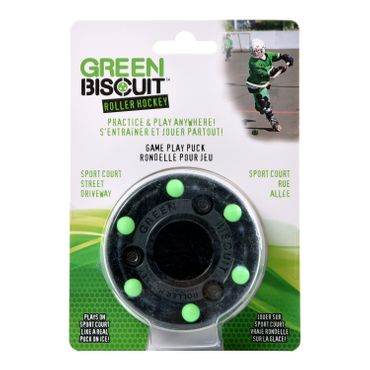 Puck Hockey Roller Green Hockey