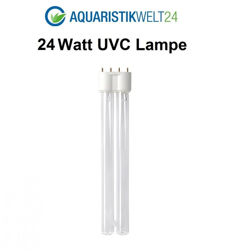 24 Watt UVC Ersatzlampe für Wasserklärer mit 2G11 Sockel  Bild 1