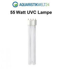 55 Watt UVC Ersatzlampe für Wasserklärer mit 2G11 Sockel  Bild 1