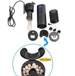 CUP-807 Aquarium Innenfilter inkl. 7 Watt UVC Klärer 700 L/h bis 500l Aquarien  Bild 4