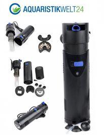 CUP-807 Aquarium Innenfilter inkl. 7 Watt UVC Klärer 700 L/h bis 500l Aquarien  Bild 2