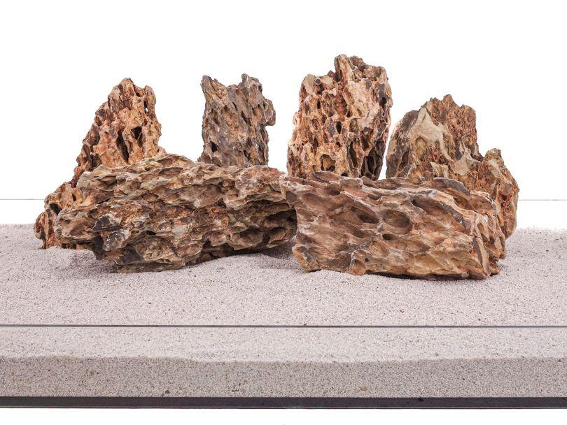Aquarium Natusteine Drachenstein braun 20 Kg Gr.L 2-3 Kg Nr.64