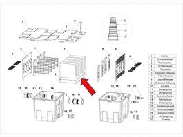 "Ersatzteil ""Japanmatte"" PART 8 - Kammerfilter CBF-350  Bild 1"