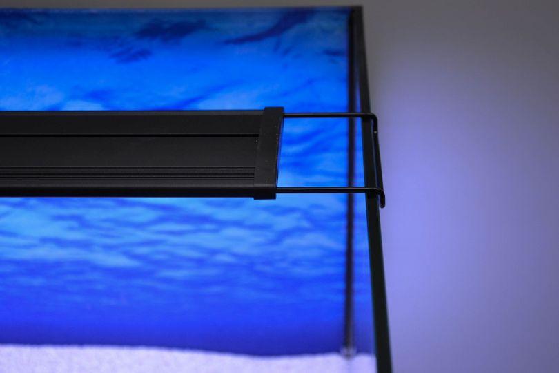 D-45 LED Aquariumlampe für 45-60cm Aquarien blau/weiß  Bild 8