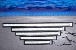 D-60 LED Aquariumlampe für 60-75cm Aquarien blau/weiß  Bild 3