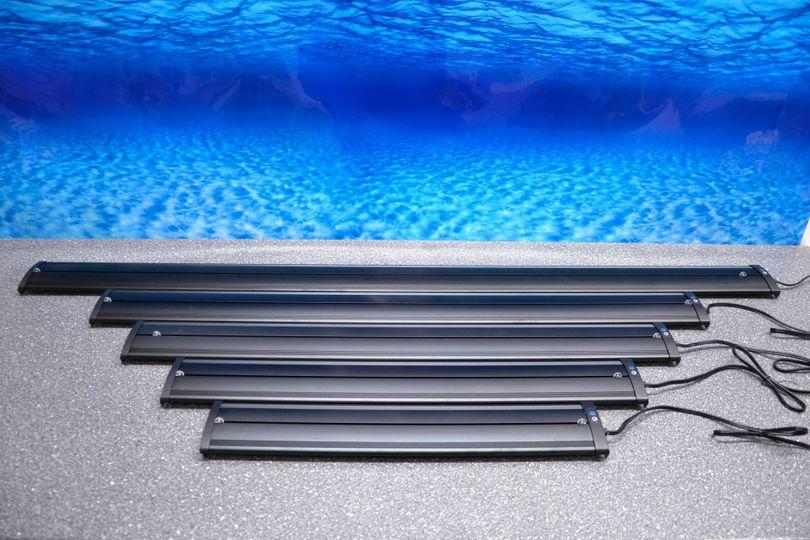 D-75 LED Aquariumlampe für 75-90cm Aquarien blau/weiß  Bild 2