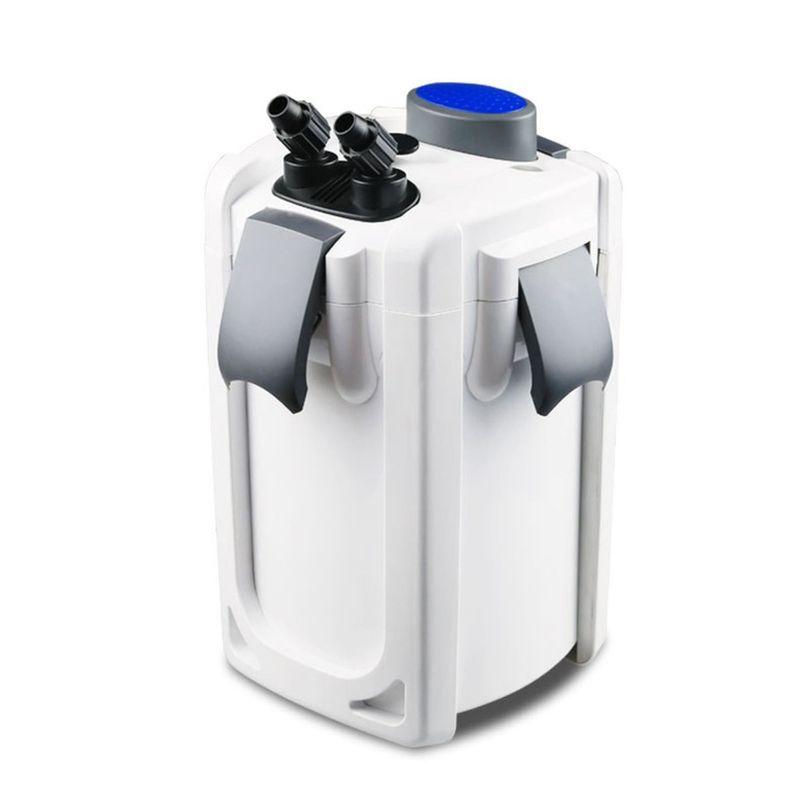 Aquarium Außenfilter HW-702A 15W 1000 L/h bis 400l Becken + Filtermaterial