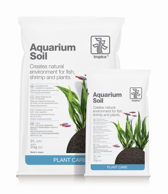 Tropica Aquarium Soil 3L kompletter Bodengrund 2-3mm