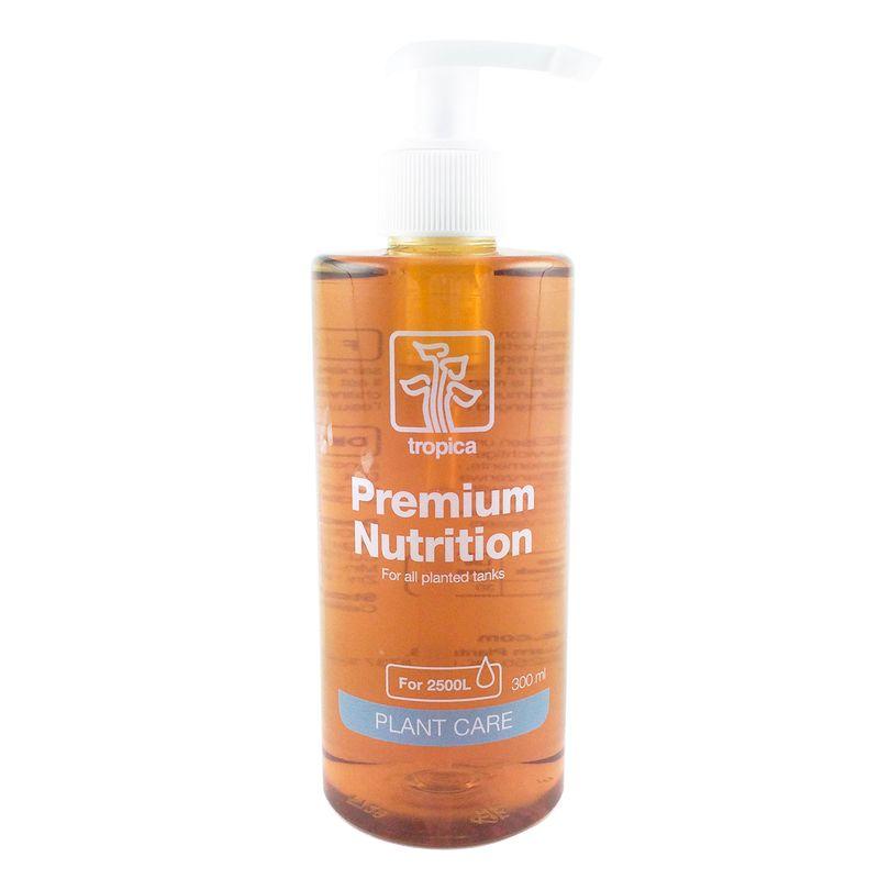 Tropica Premium Nutrition Dünger 300ml Flasche - Düngung für Aquarienpflanzen