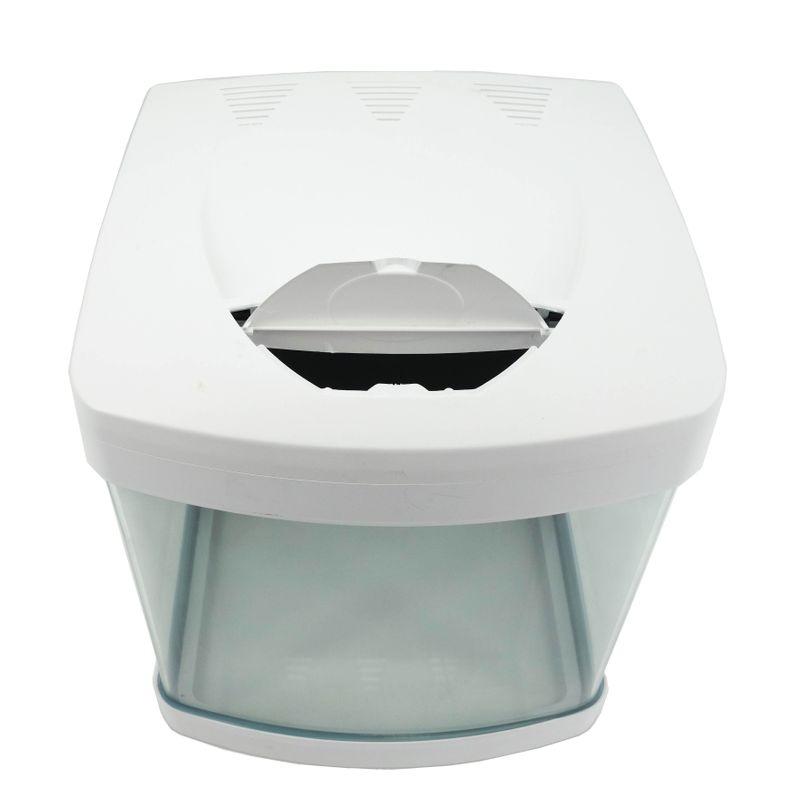 Nano Aquarium XCUBE in weiß inklusive Dekoration Bild 5