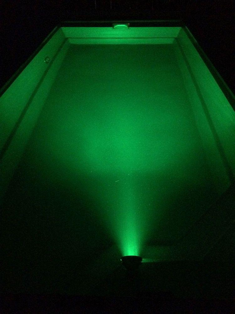 18w led rgb 12v teich pool unterwasser u garten beleuchtung lampe aus edelstahl ebay. Black Bedroom Furniture Sets. Home Design Ideas