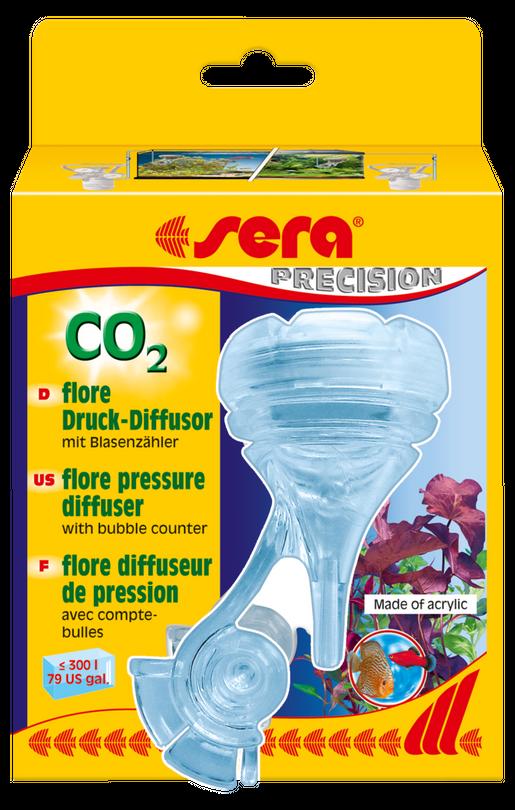 Sera flore CO2 Druck Diffusor inkl. Blasenzähler