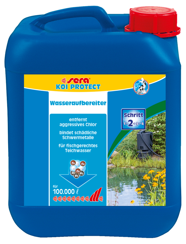 Sera KOI PROTECT 5 Liter Wasseraufbereitung Gartenteich Pflegen