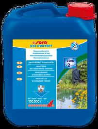 Sera Koi protect 5 Liter Wasseraufbereitung Gartenteich Pflegen Bild 2