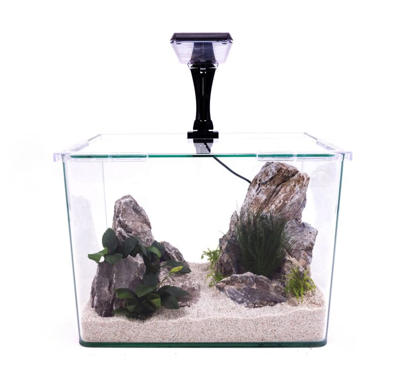 Wave Box ORION 30 Nano Aquarium Komplettaquarium Mini Aquarium+Filteranlage