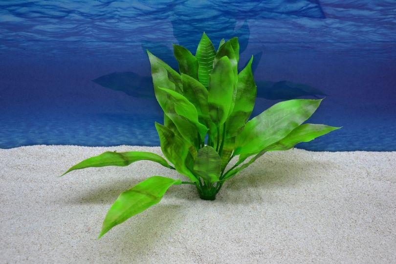 Amtra Echinodorus L 28cm künstliche Pflanze Dekoration Aquarium