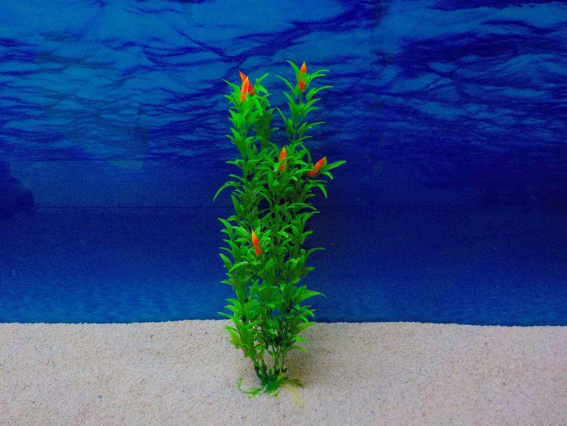 Amtra Egeria L 23cm künstliche Pflanze Dekoration Aquarium