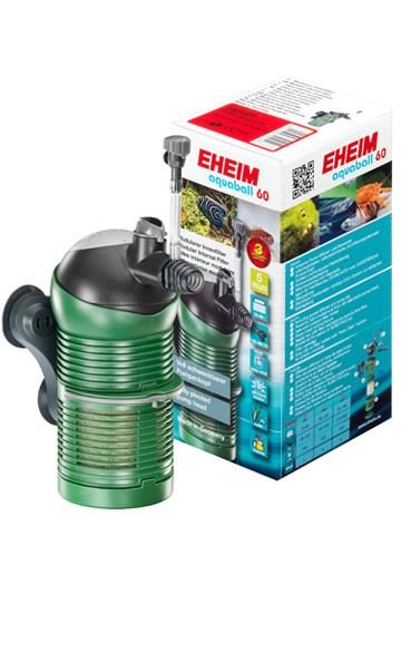 Eheim Aquaball 60 Innenfilter 150-480 L/h für 30-60 L Aquarien schwenkbar