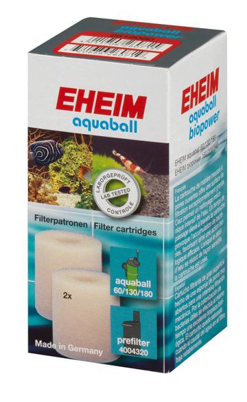 Eheim Filterschwamm Aquaball 60/130/180 Innenfilter Filterpatrone 2 St.