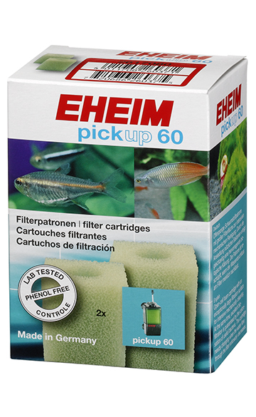 Eheim Filterschwamm Pickup 60 Innenfilter Filterpatrone Innenfilter 2 St.