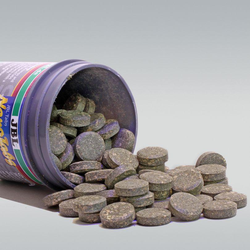 JBL NanoTabs 60ml Hauptfutter-Tabletten für Garnelen und Flusskrebse Bild 2