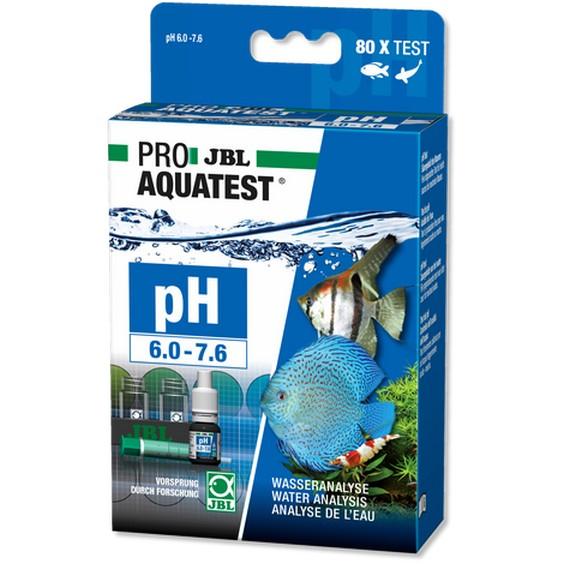 JBL pH 6,0-7,6 Test Schnelltest zur Bestimmung des pH-Wertes Süßwasser Aquarien