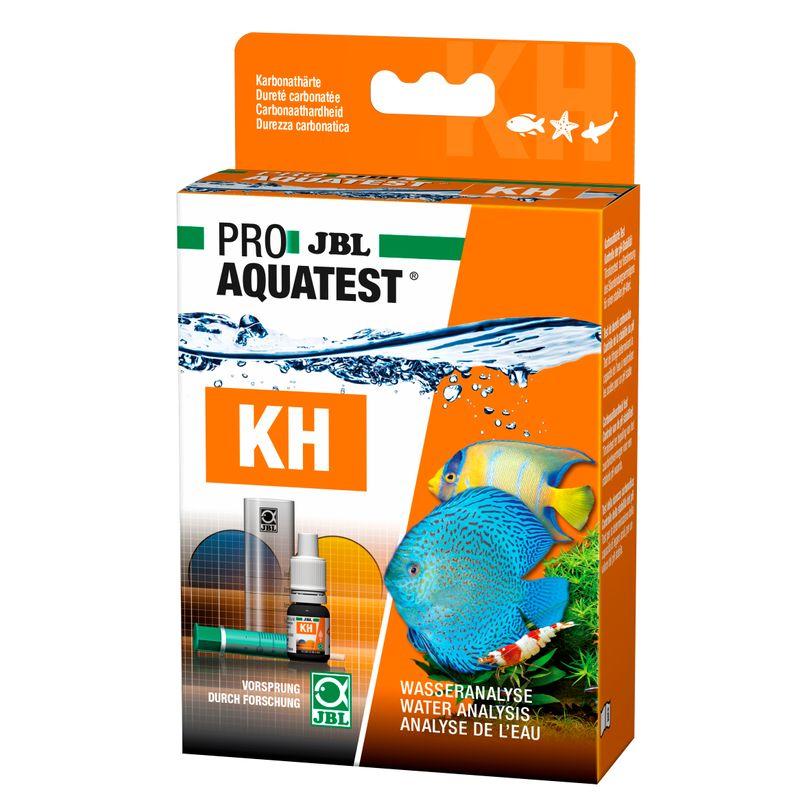 JBL KH Test Schnelltest der Karbonathärte in Süß-/Meerwasser Aquarien & Teichen