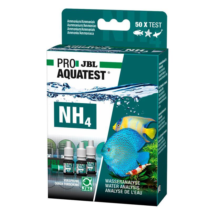 JBL NH4 Ammonium Test Ammonium-/Ammoniakgehalt Süß-/Meerwasser-Aquarium & Teich