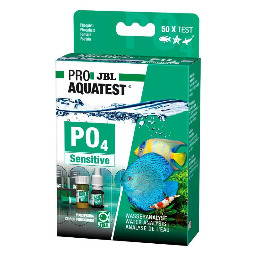 JBL PO4 Phosphat Test sensitiv Phosphatgehalt Süß-/Meerwasser Aquarium & Teich