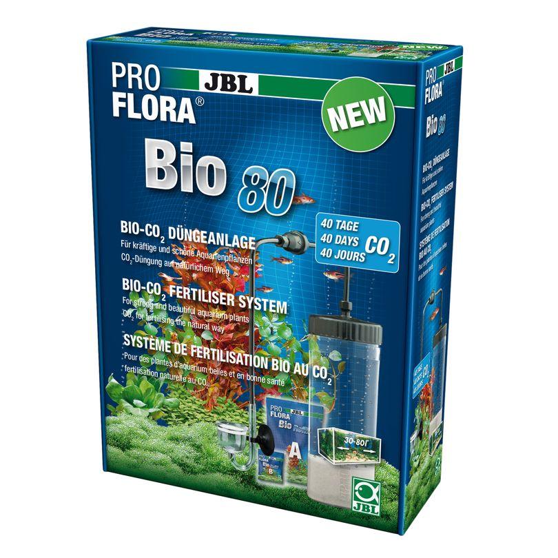 JBL ProFlora Bio80 - Bio-CO2-Düngeanlage mit Glasdiffusor