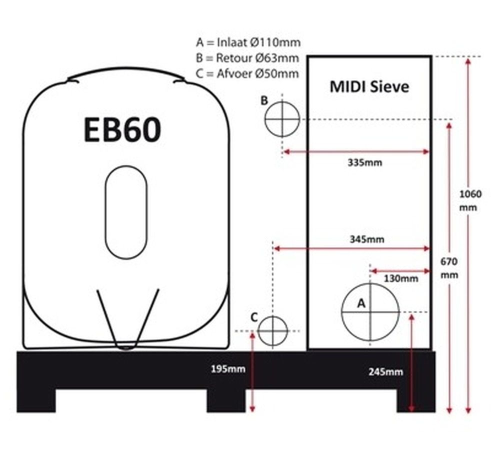 aquaforte eb60 komplett set filter teich und pool. Black Bedroom Furniture Sets. Home Design Ideas