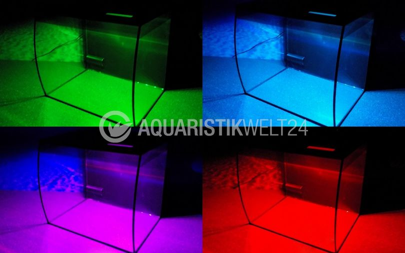 Fluval Flex 57l Nano Aquarium weiß Komplettaquarium +Filteranlage +RGB Licht