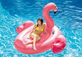 Steinbach - Mega Flamingo Island schwimmende Insel Pool Bild 2