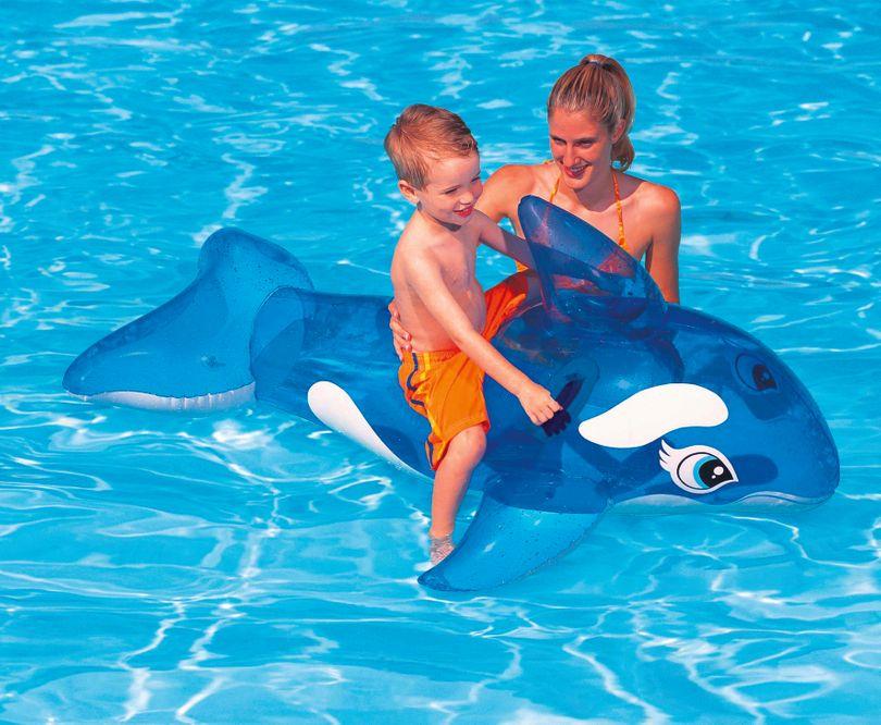 Steinbach - Little Whale Ride-On Reittier Wal Kinder  Bild 2