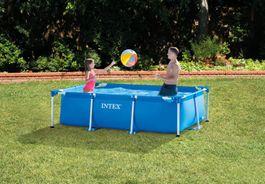 Steinbach - Frame Pool Set Family 220 x 150 x 60 cm Intex Bild 2