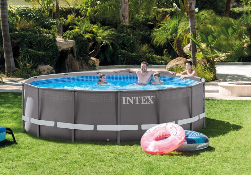 Steinbach - Frame Pool Set Ultra Rondo Ø 427 x 107 cm Intex