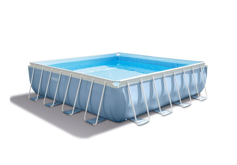 Steinbach - Frame Pool Set Prism Karo 427 x 427 x 107 cm Intex