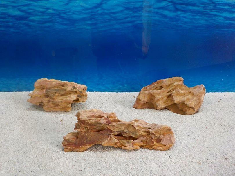 """Aquarium Drachenstein Dekosteine Art.62 """"original Foto"""" Größe M 10-18cm Nr.6730"""