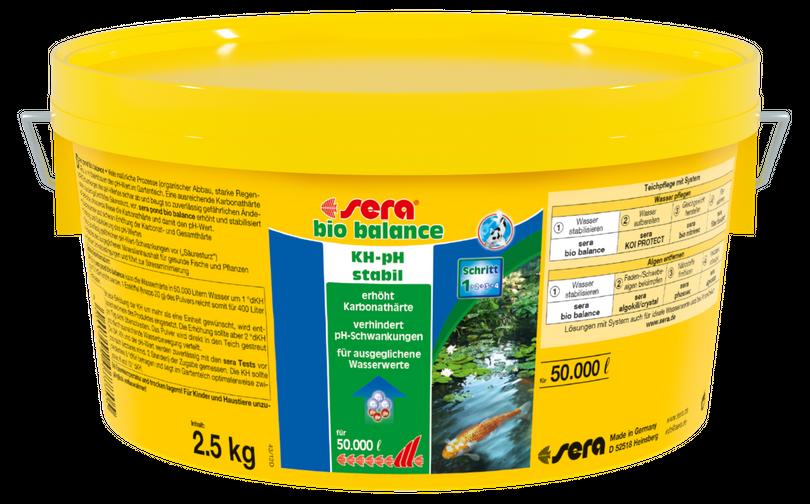 sera pond bio balance 2,5 Liter Gartenteich Wasseraufbereitung Algen  Bild 2